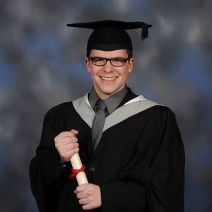 andrew waterhouse graduation photo