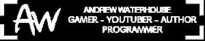 andrew waterhouse logo white