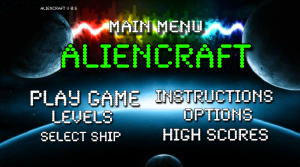 Aliencraft Screenshot
