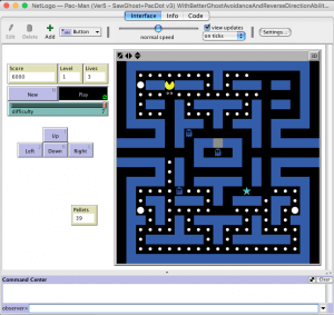 automated pac-man level one
