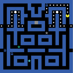 automated pac-man fullscreen