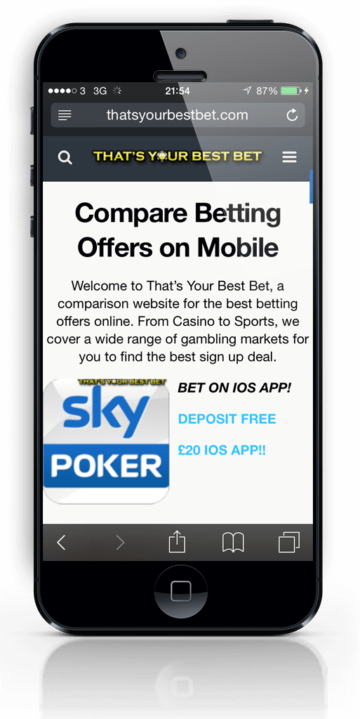 thats your best bet on iphone