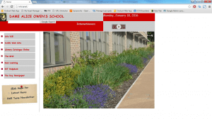 old intranet site 300x169 - Dame Alice Owens Old Intranet Website