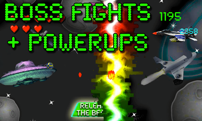 Aliencraft Boss Fight