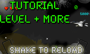 Aliencraft Tutorial Level