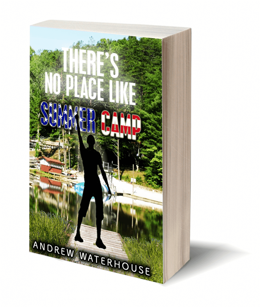 there's no place like summer camp book cover