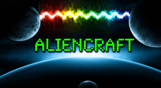Aliencraft Game Logo