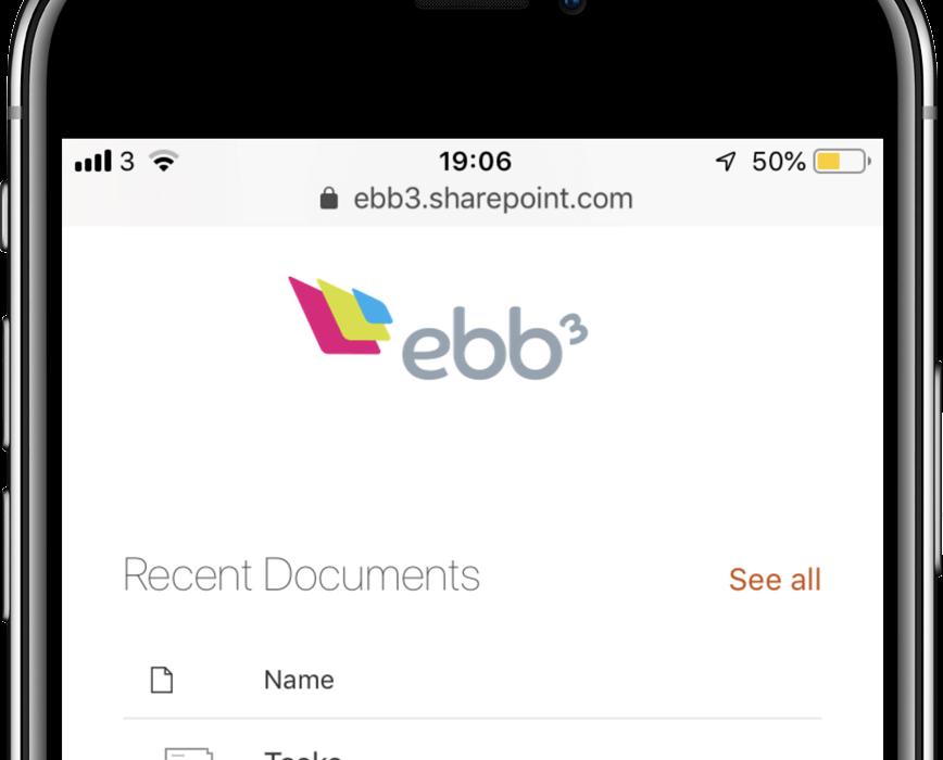 ebb3 intranet portfolio icon