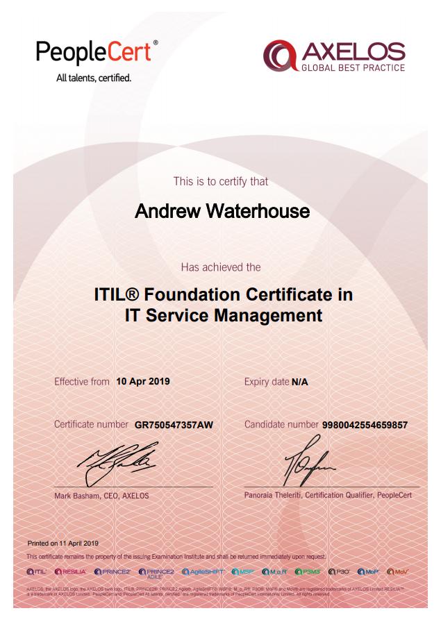 2020 02 19 13 20 27 ITIL e Cert.pdf - About Me