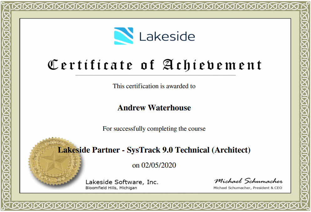 2020 02 19 13 23 22 Certification for Partner TECHNICAL Architect 9.0 - About Me