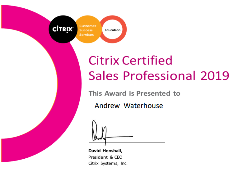 2020 04 22 14 43 52 Citrix Certified Sales Professional Assessment.pdf - About Me