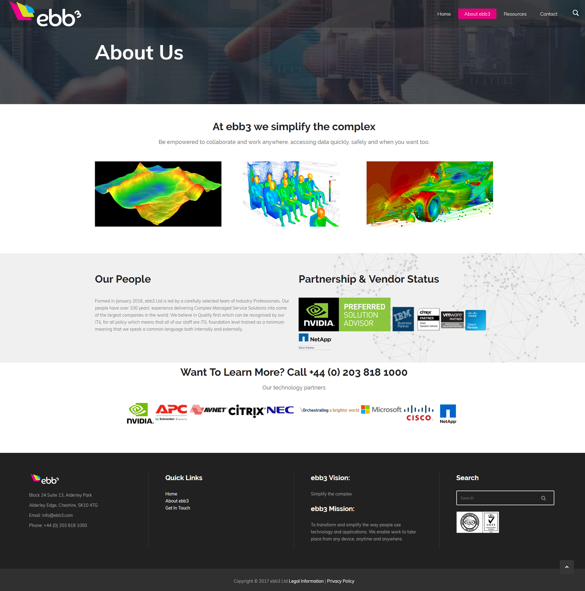 ebb3 about - ebb3.com Website Development
